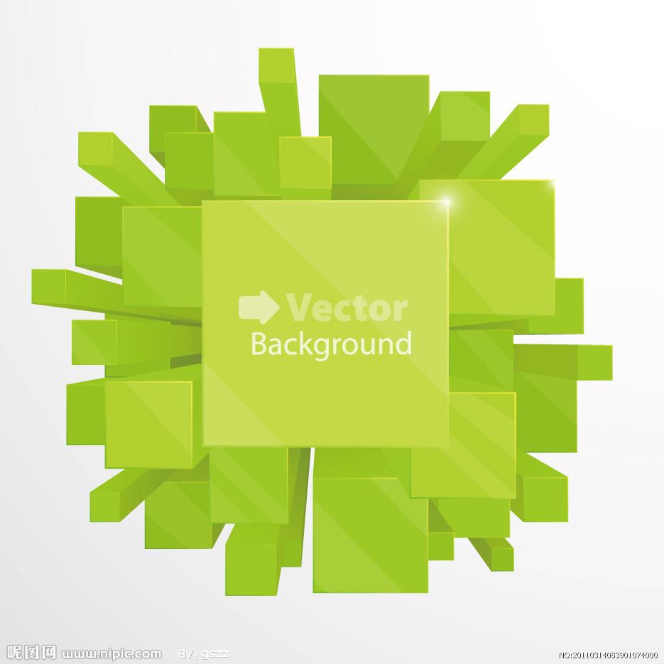 绿色科技背景素材